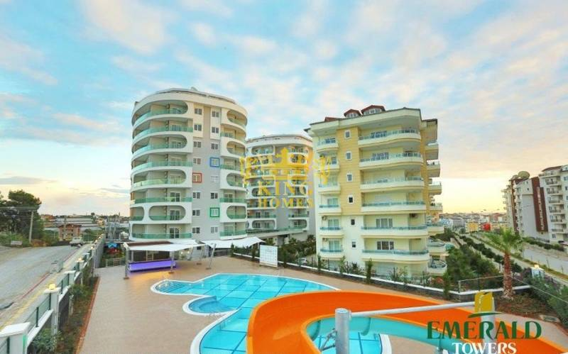 Квартира 1+1 в ж/к Emerald Towers, Авсаллар (ID276)